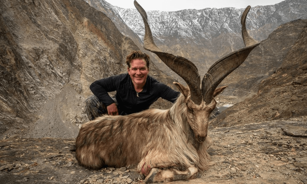 American Pays $110,000 to Hunt Markhor in Pakistan