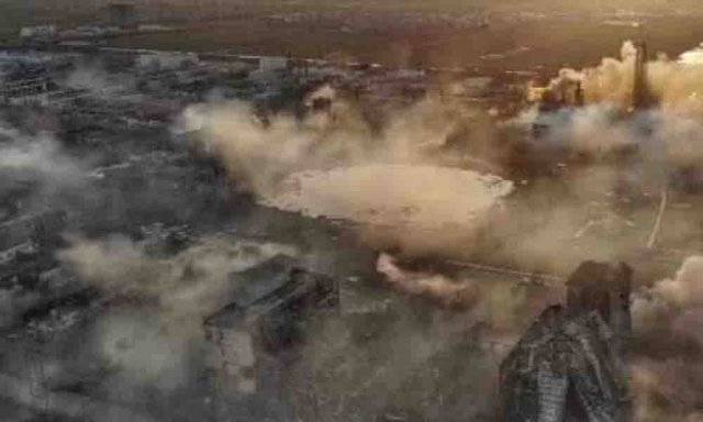 47 dead in China from the explosion in a chemical plant