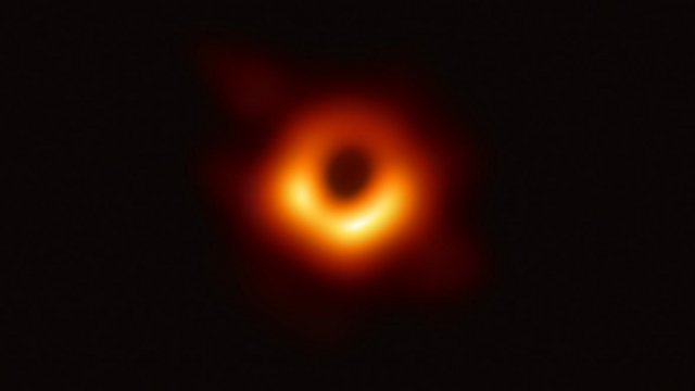First Picture of blackhole - 2019 - blackhole image - e-Syndicate Network