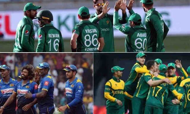 South Africa, Sri Lanka and Pakistan have announced their provisional World Cup Squads