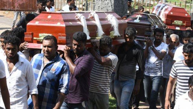 Victims of Sri Lanka Easter Attacks