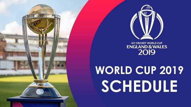 ICC Cricket World Cup 2019 – Schedule and Venues