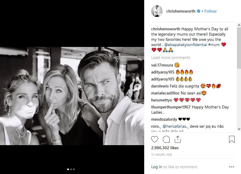 Chris Hemsworth - Mothers Day