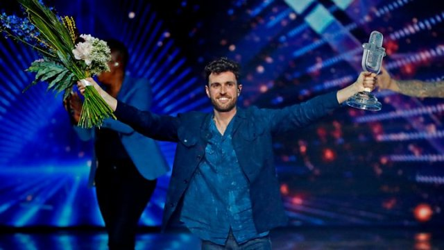 Eurovision 2019 - Duncan Laurence from The Netherlands wins