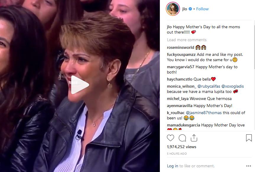 Jennifer Lopez - Mothers Day