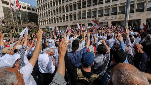 Lebanon stock exchange suspends operations over Central Bank Strike