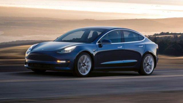 More Model 3 sedan on the way