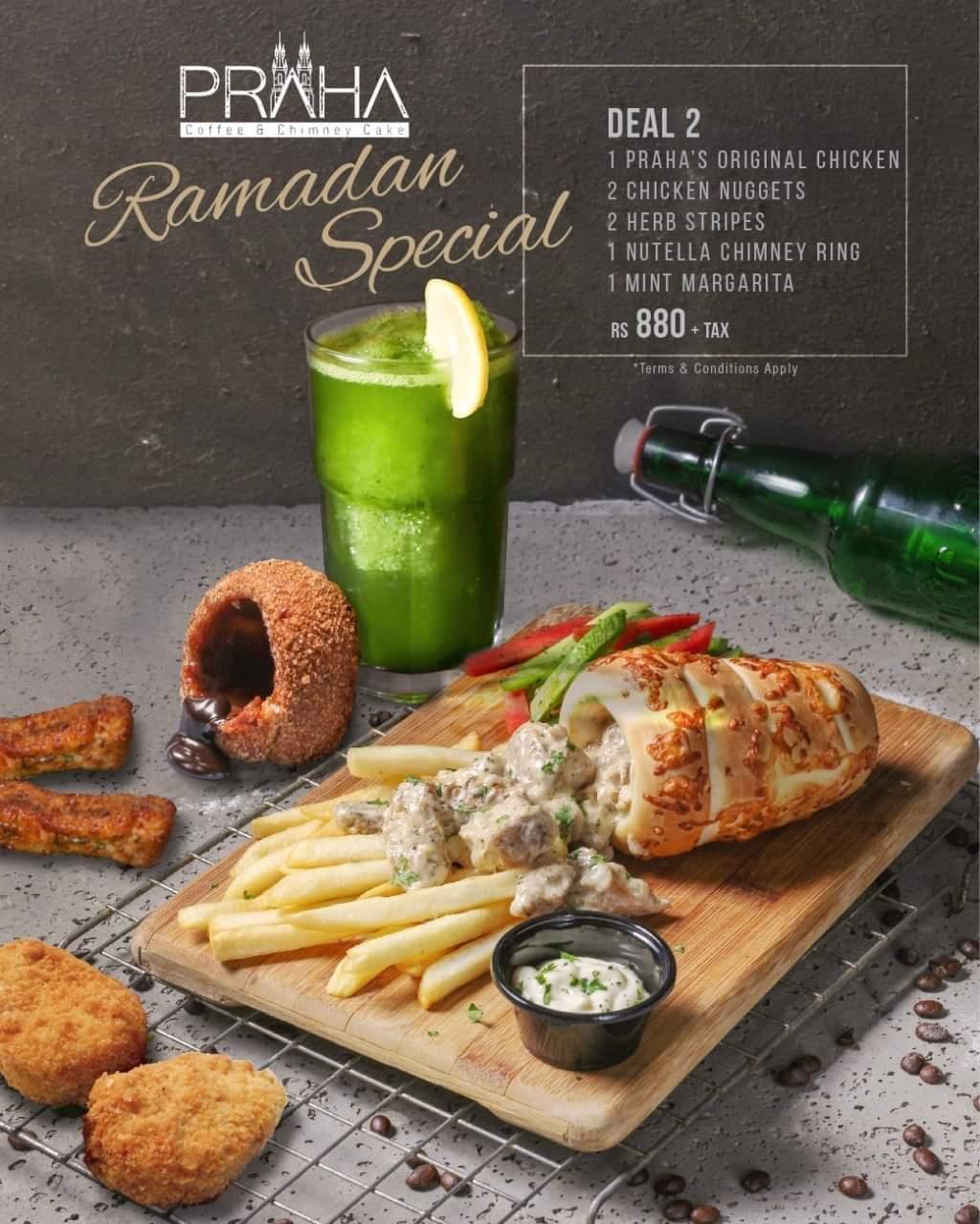Paraha - Coffee and Chimney Cake - Ramzan Discounts in Karachi