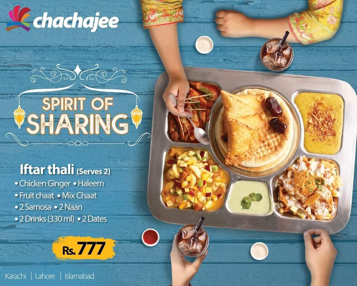 chachajee ramzan discount and deals in karachi