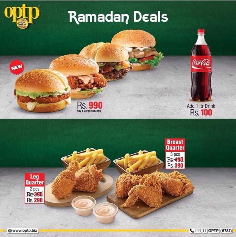 OPTP Ramzan Discount and Deals in Karachi