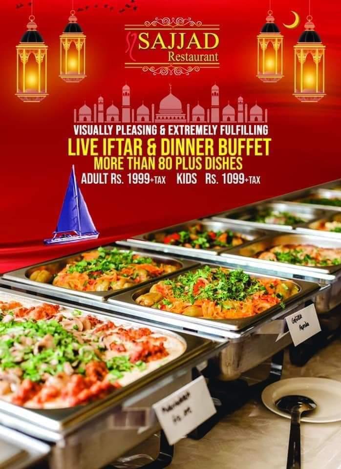 Sajjad Restaurant - Ramzan Deals and Discounts in karachi