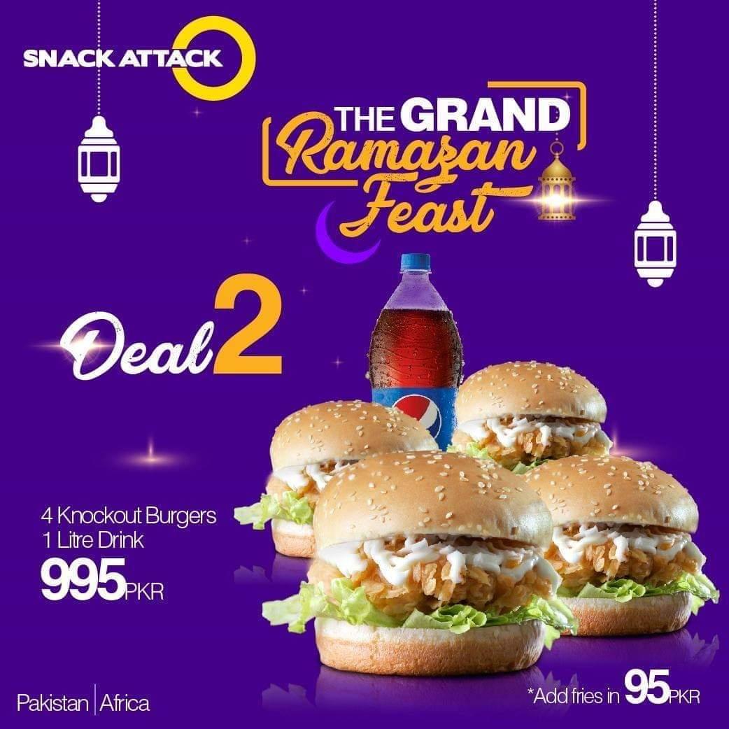 Snack Attack - Ramzan Deals and Discounts in Karachi 2019