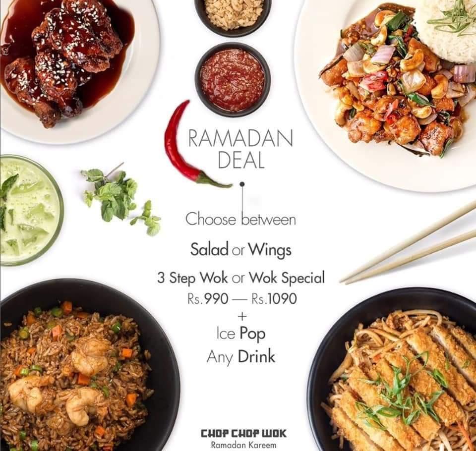 Chop Chop Wok - Ramzan Deals and Discounts in Karachi - Pakistan