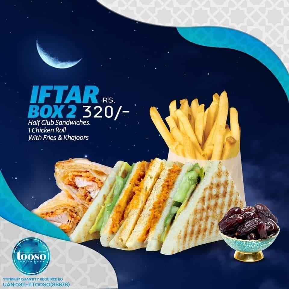 Tooso - Ramzan Deals and Discounts in Karachi 2019
