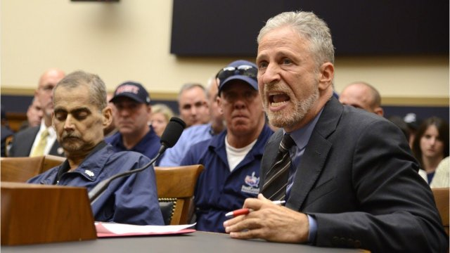 Jon Stewart slams US Congress in an angry speech