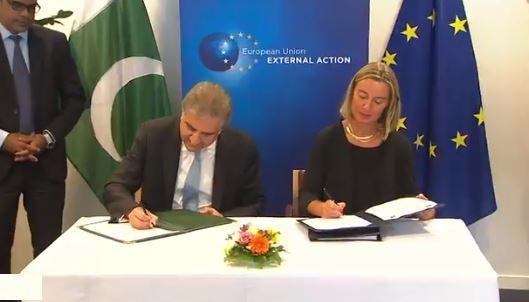 Pakistan and EU signs a Strategic Engagement Plan