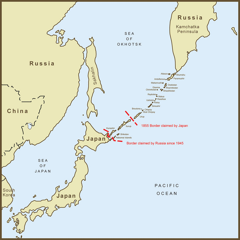 Russia will not hand over Kuril Islands to Japan