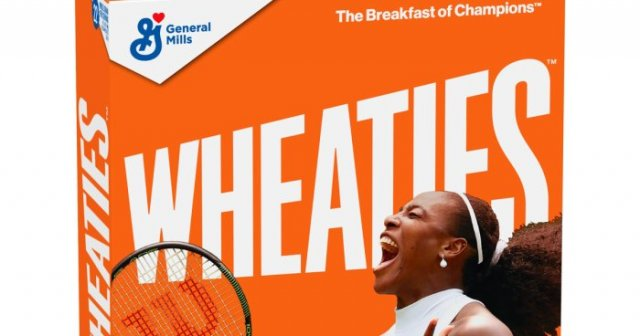 Serena Williams gets her own Wheaties Box Cover