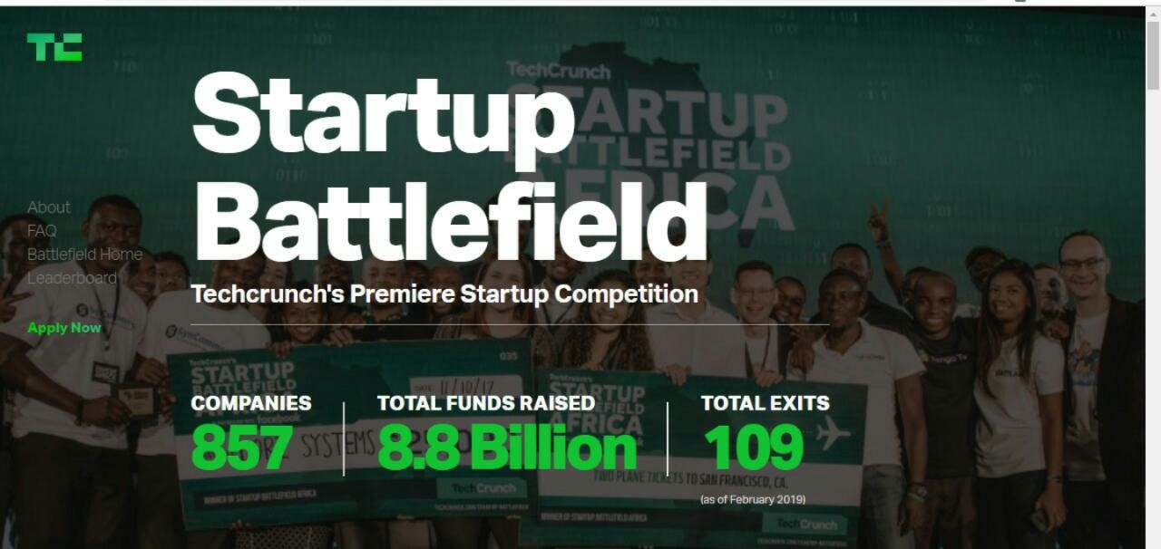 Tech crunch's premier startup competition: Startup
