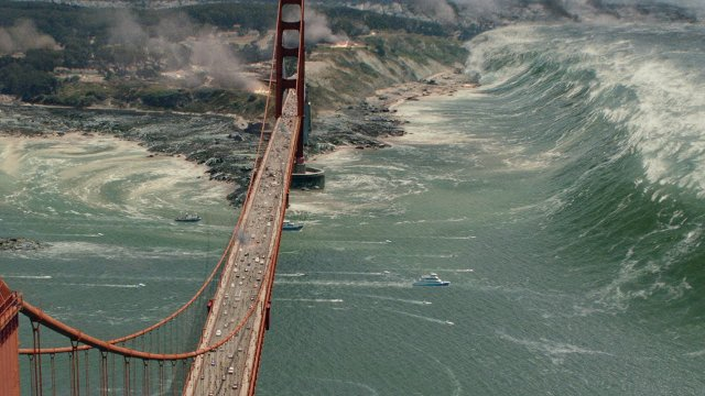 Can events shown in a movie San Andreas really happen in California