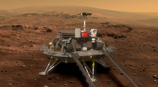 China's Mars mission in 2020