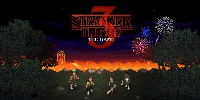Stranger Things 3 NEW game launch