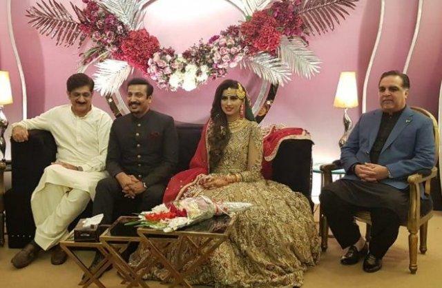 Faisal Sabzwari marries TV host Madiha Naqvi