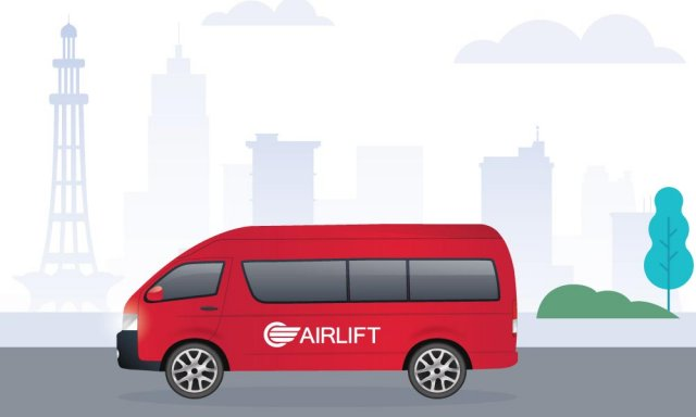 Lahore based ride hailing startup 'Airlift' has raised 2.2 m seed