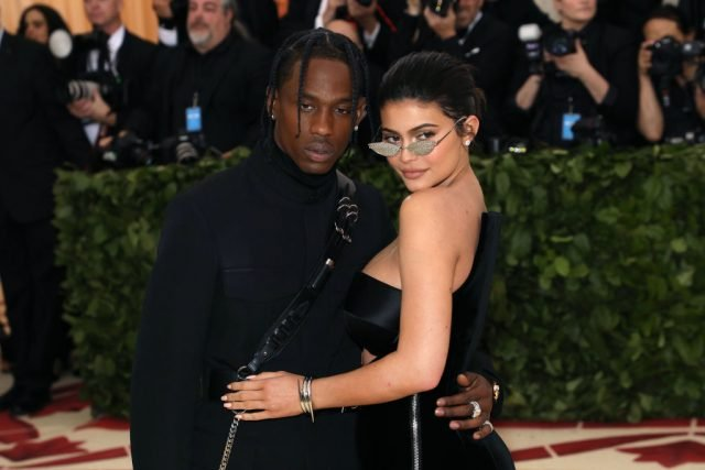 Travis Scott surprises Kylie Jenner with an early Birthday present