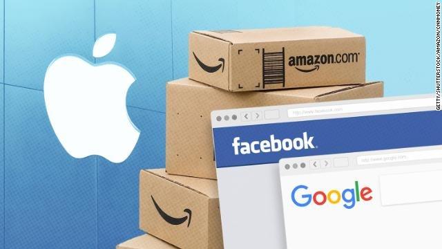 Big Tech lost $162 billion in value in Monday's market route