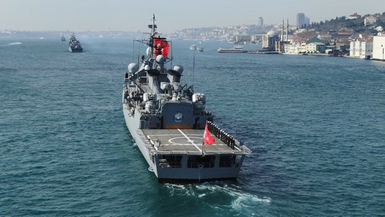 Turkey is building naval warship for Pakistan: President Erdogan