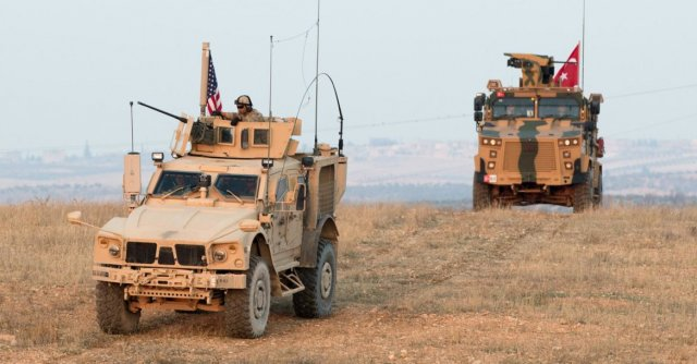 US and Turkey joint Patrol
