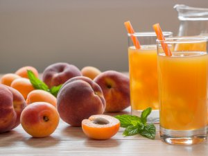 How to make Peach Juice at home