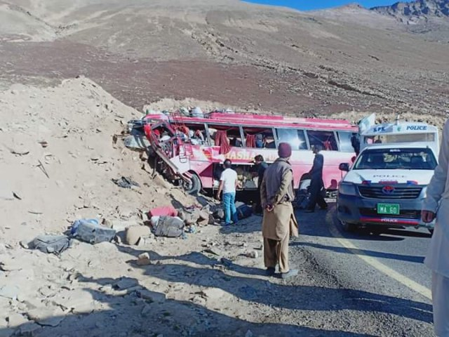 Police said 15 others were injured in the accident near Babusar Top.
