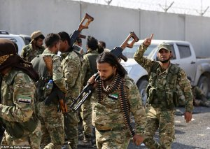 Syrian Kurds claim that Turkish shells are hitting ISIS prison