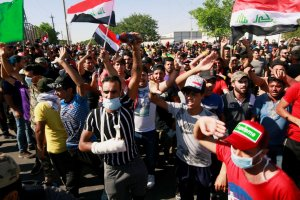 The death toll in Iraq increases to 90+ in the midst of ongoing Protest