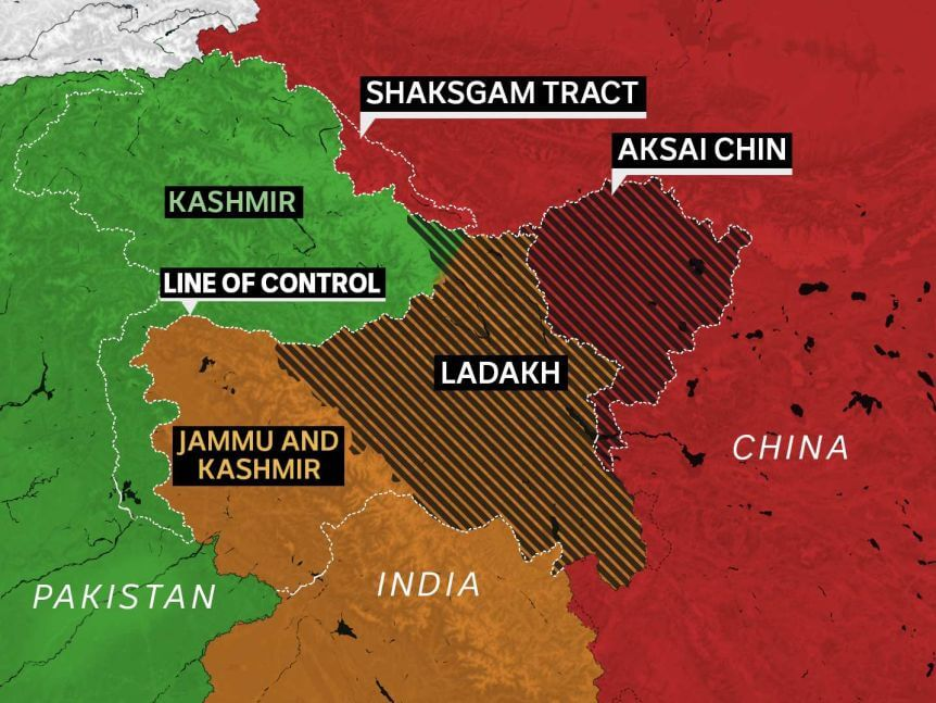 China Takes Control of Indian Territory of Ladakh
